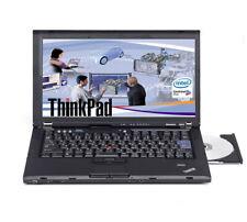 "Lenovo ThinkPad T400  Core 2 Duo P8600  2 ,4GHZ, 4GB RAM, 100 GB SSD  14"""