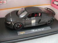 1/18 Maisto Audi R8 GT mattschwarz 36190