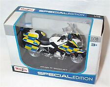 BMW R 1200 RT Police Motorcycle New in Box 1-18 scale