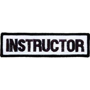 Job Lot 30 x Embroidered Instructor Badges