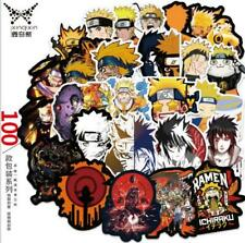 Naruto Anime Sticker Aufkleber 100pcs für luggage Gepäck Koffer Laptop 7-8cm