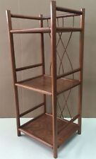 """Wood Shelf Rack Rattan Ramin New """" Made in Germany """" Colour Oak"""