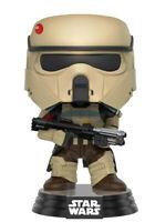 Star Wars Rogue One Scarif Stormtrooper Pop! Figura Azul Raya 9 CM Funko