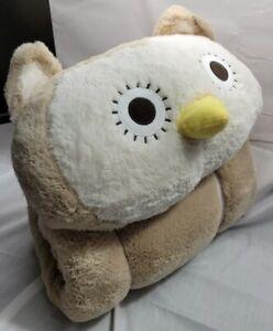 Mainstays~PLUSH OWL Cuddly Slumber Bag