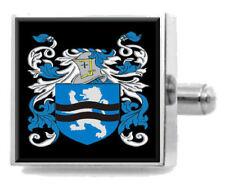 Maclaren Schottland Heraldik Wappen Sterling Silber Manschettenknöpfe Graviert
