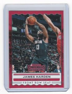 2019-20 NBA Contenders FRONT ROW SEAT Card - James Harden, Rockets #5