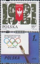 Polen 3586,3604 (kompl.Ausg.) gestempelt 1996 3. Schlesischer Aufstand, Philatel