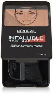 L'Oréal Paris Infallible Pro Contour Palette, Deep/Profound, 0.24 oz.