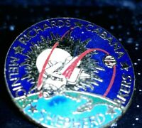 STS  41 Space Shuttle Vintage NASA Collectible Space Lapel Hat Pin