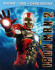 BLU RAY + DVD MARVEL - IRON MAN 2 / COMBO PARAMOUNT