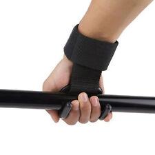 Peso sollevamento palestra gancio grip cinturino da polso guanti di sostegno IT1