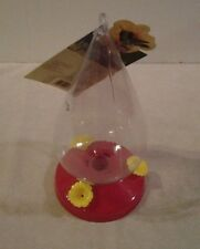 "Birdscapes ""Dew Drop"" Hummingbird Feeder 32 ounce capacity - Nwt"