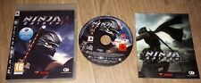 PLAYSTATION 3 PS3 GAME NINJA GAIDEN 2 WITH CASE & INSTRUCTIONS