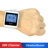 RF Wireless Watch Calling Receiver Call Pager System for Hospital Hotel Factory