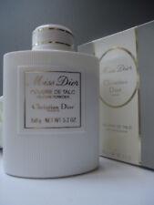 Superb Christian Dior Miss Dior Talc Talcum Powder 5.2oz New Vintage Creased Box