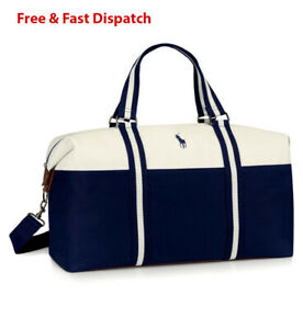 Ralph Lauren Polo Mens Weekend Holdall Duffle Sports Travel Gym Bag BRAND NEW