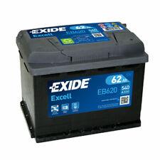 EXIDE EB620 BATTERIA AUTO EXCELL 62AH 540EN DI SPUNTO 12V OEM POSITIVO DX