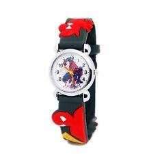 1 X Spider Man Marvel Cartoon Child Boys Kids Analog Quartz Wrist Watch Rubber