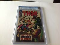 THOR 146 CGC 9.2 WHITE PAGES ORIGIN INHUMANS BACK UP STORIES BEGIN MARVEL COMICS