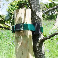 """5-pack of 38cm (15"""") Ladderlock Buckle Tree Ties Support Foam Spacer GREEN"""