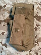 High Ground Gear Instant-Access Smoke Grenade Pouch, Single Coyote Brown Devgru