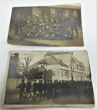 Antique British Military Soldiers WWI Era? RPPC Postcard Lot 2 Unused Free S/H