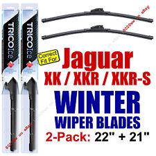 WINTER Wiper Blades 2-Pack Premium - fit 2007-2015 Jaguar XK XKR XKR-S 35220/210