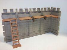 Playmobil ® Mauer Erweiterung für Ritterburg 3666 TOP ZUSTAND Treppe Wehrgänge