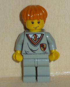Nr.3505 Lego hp007 Minifig Harry Potter Ron mit Gryffindor Oberteil hellgrau ALT