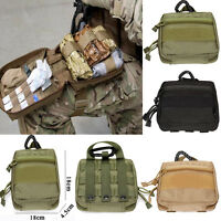 1000D Molle Military EDC Utility Bag Medical First Aid Pouches Case Emergency