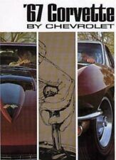 CORVETTE 1967 Sales Brochure 67 Vette