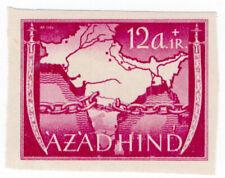 (I.B) India Cinderella : Azad Hind 12a + 1R (proof)