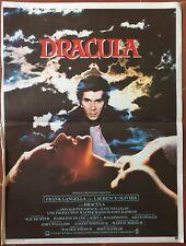 Affiche DRACULA John Badham FRANK LANGELLA Laurence Olivier 40x60cm *