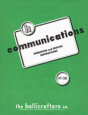 Hallicrafters HT-32B Transmitter Operating and Service Manual
