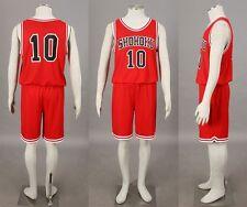 SLAM DUNK Sakuragi Hanamichi Basketball jersey Sportswear cosplay costume