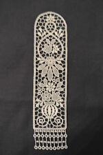 Lace Bookmark - Flowers - Floral