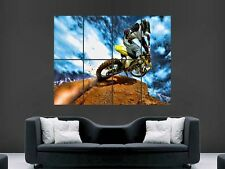 MOTOCROSS   WALL PICTURE POSTER  GIANT HUGE