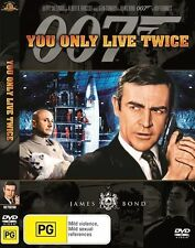 You Only Live Twice DVD JAMES BOND 007 Sean Connery 2-DISC Ultimate BRAND NEW R4