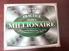 Practice to be a Millionaire Game 2000 TDC Games
