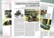 old Auto COACHBUILDING History Article :ZAGATO,BERTONE,GHIA,