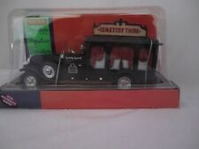 Lemax Spooky Town Cemetery Tour Bus Cemetary Hearse NEW in BOX Mint Condition