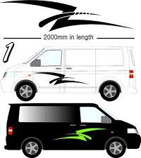 Vehicle Graphic Decals self adhesive vinyl stickers Camper Vans & Motorhomes D1