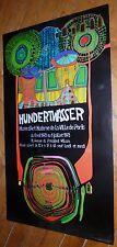 Hundertwasser affiche quadri 1975 musée d'art moderne de la ville de Paris