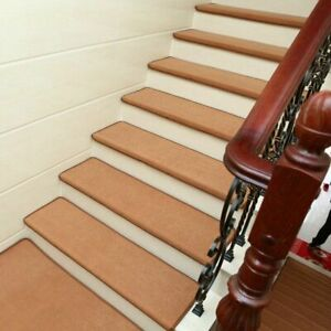 Non Slip Tread Staircase Mat Area Rugs Cover Pad Home Decoration 15 Pcs/Set Mats