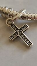 Genuine Authentic Pandora Sterling Silver Symbol of Faith Cross Charm