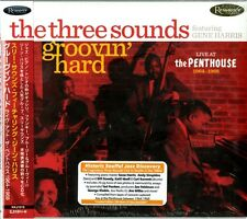 THREE SOUNDS FEATURING GENE HARRIS-GROOVIN' HARD: LIVE AT THE...-JAPAN CD F08