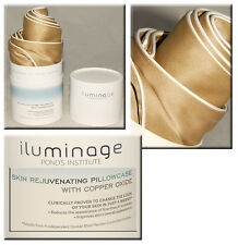 iluminage - LUXURIOUS Skin Rejuvenating PILLOWCASE w/ COPPER OXIDE *BRAND NEW