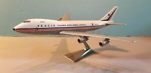 FLIGHT MINATURE CHINA AIRLINES CARGO 747-100 1:250 SCALE PLASTIC SNAPFIT MODEL