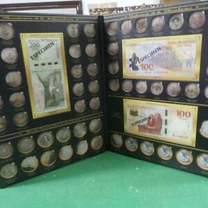 2010-2019 Angel Album for bimetallic conmemorative mexican coins