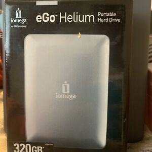 Iomega 320GB External Hard Drive Portable USB